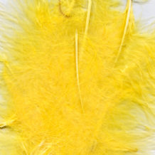 Yellow Feathers for Balloons - Eleganza 8g Bag 1PK